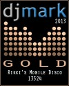Gold DJ Mark Award